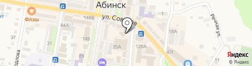 Дом детского творчества на карте Абинска