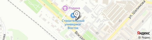 Банкомат, Первый Украинский Международный Банк на карте Харцызска