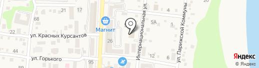 Управление Пенсионного фонда РФ в Абинском районе на карте Абинска