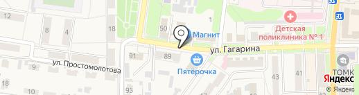 Белорусская лавка на карте Узловой