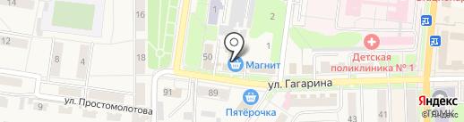 Магнит на карте Узловой