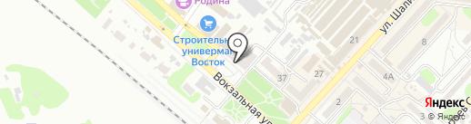 Поплавок на карте Харцызска