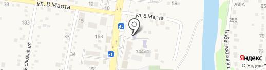 Детский сад №2 на карте Абинска