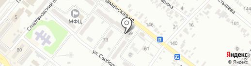 Копилка на карте Харцызска