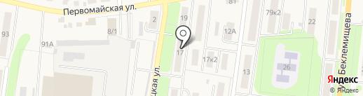 Девяточка на карте Узловой