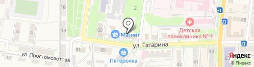 Ермолино на карте Узловой