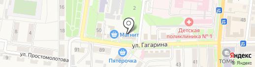 Богара на карте Узловой