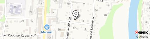 Раут на карте Абинска