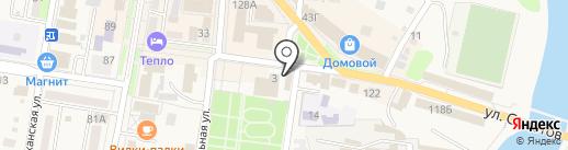 Новый стиль на карте Абинска