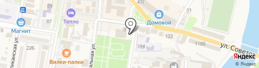 Совкомбанк, ПАО на карте Абинска