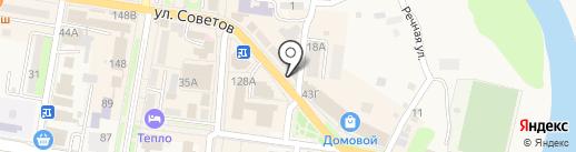 Абинские новости на карте Абинска