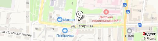 Узловский похоронный дом на карте Узловой