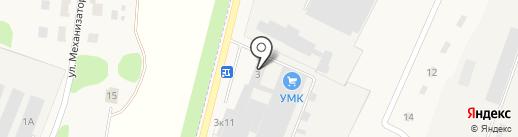 Узловский молочный комбинат на карте Узловой
