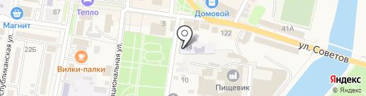 Детский сад №1 на карте Абинска