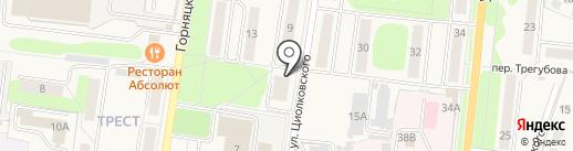 Семейное на карте Узловой