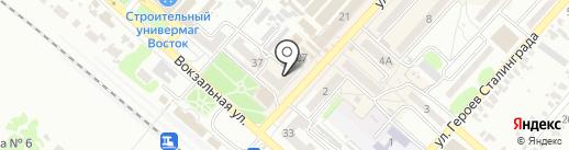 Алеся на карте Харцызска