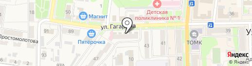 Женская консультация на карте Узловой
