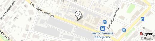 Дарина на карте Харцызска