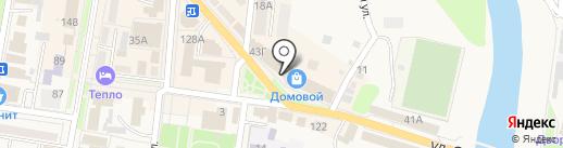 Совенок на карте Абинска