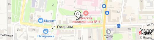 Мэтр на карте Узловой