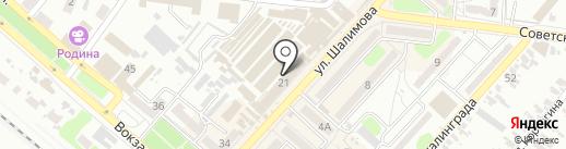 Домотехника на карте Харцызска