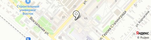 Элит на карте Харцызска