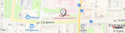 Умка на карте Узловой