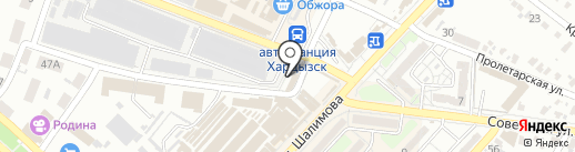 Магазин искусственных цветов на карте Харцызска