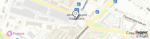 Магазин по продаже семян на карте Харцызска