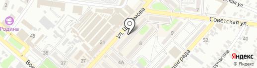 КолбикО на карте Харцызска