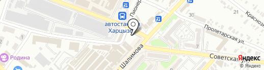 АвансЪ, ПО на карте Харцызска