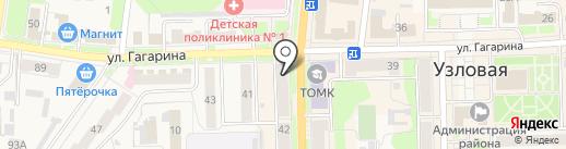 КБ Геобанк на карте Узловой