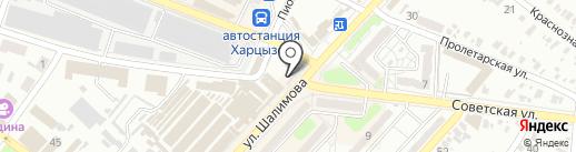 Большая стирка на карте Харцызска