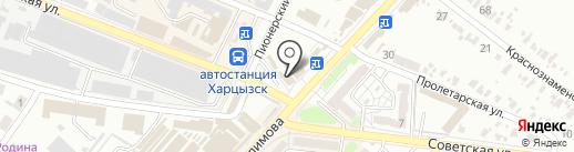 Шик на карте Харцызска