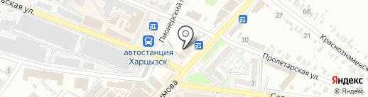Банкомат, АБ Південний, ПАО на карте Харцызска