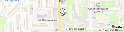 Доступные кухни на карте Узловой