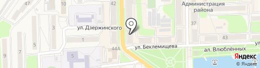Надин на карте Узловой