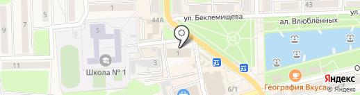 Пожарная часть №30 на карте Узловой