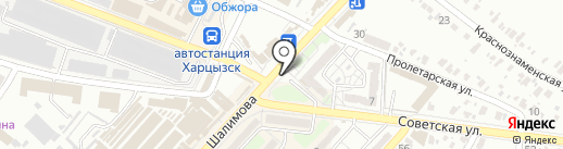 Социальный на карте Харцызска