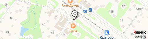 Кредит Пилот на карте Кратово