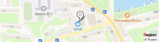 SPAR на карте Узловой