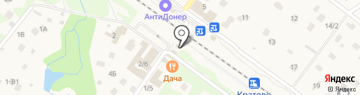 Кратово на карте Кратово