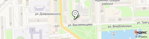 Дом текстиля на карте Узловой
