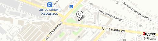 Красотка на карте Харцызска