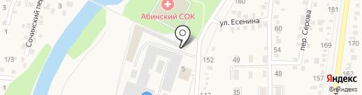 Отдел вневедомственной охраны по Абинскому району на карте Абинска