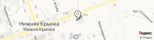 Лада, продуктовый магазин на карте Нижней Крынки