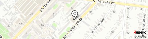 Барбарис на карте Харцызска