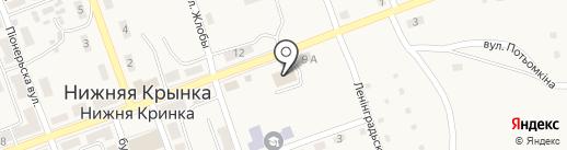 Лада, продуктовый магазин Экспресс-сервис на карте Нижней Крынки