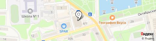 Магазин женского белья на карте Узловой