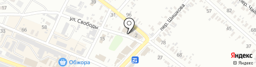 Мебельная компания, ЧП Педенко А.В. на карте Харцызска